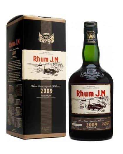 JM Rhum Agricole Millésime 2009