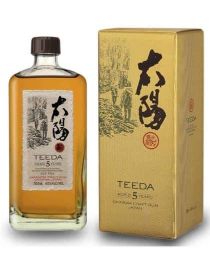 Teeda Japanese Rum 5 Years