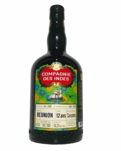Compagnie des Indes Reunion 12 Ans Savanna Rum Stylez