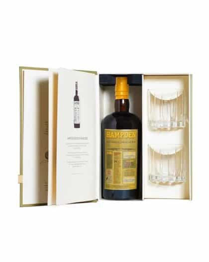 Hampden 8 years giftpack with 2 glasses