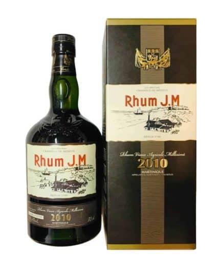 Rhum J.M Rhum Vieux Agricole Millésimé 2010 70cl 43,4%Vol