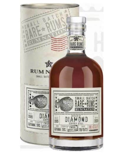 Rum Nation Small Batch Rare Rums Diamond SXG 18 y.o. 2002-2020