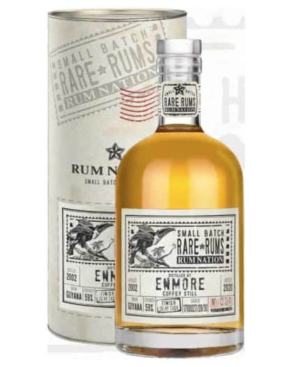 Rum Nation Small Batch Rare Rums EnmoreKFM 18 y.o. 2002-2020