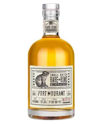 Rum Nation Small Batch Rare Rums Port Mourant 2001 2019