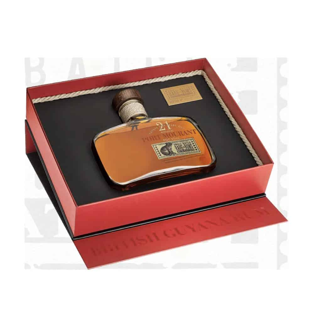 Rum Nation Small Batch Rare Rums Port Mourant 21 y.o. 1999-2020 50 cl.