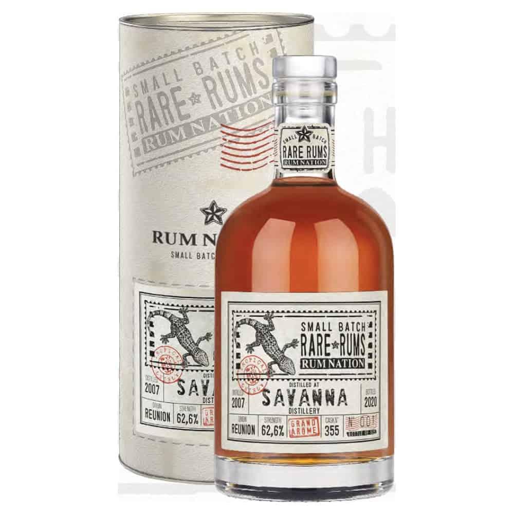 Rum Nation Small Batch Rare Rums Savanna 2007-2020 Grand Arôme