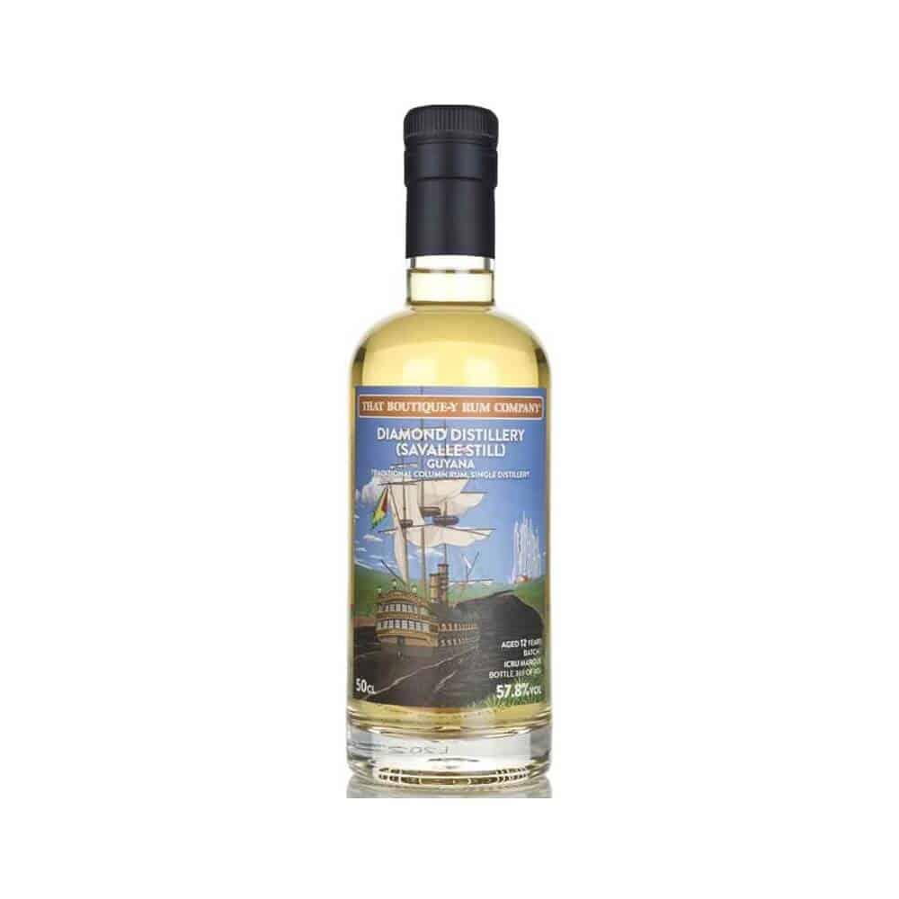 That Boutique Y Rum Company Guyana Diamond Distillery Savalle Still Aged 12 Years Batch 1