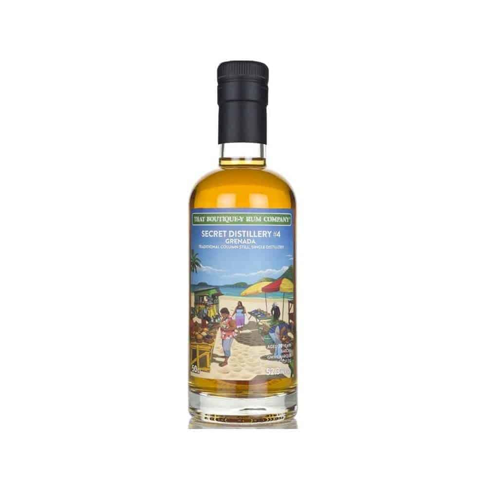 That Boutiquey Rum Company Grenada Secret Distillery #4 Aged 20 years Batch 1