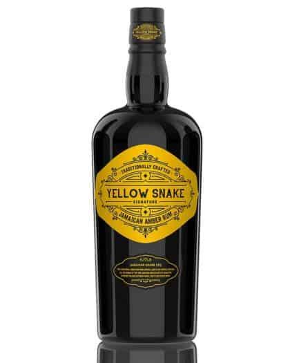 Island Signature Rum Yellow Snake Jamaican Amber Rum