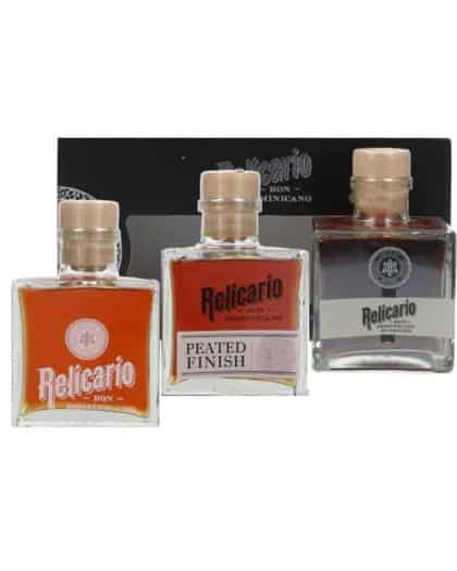 Relicario 3x20cl Giftpack Superior Supremo Peated