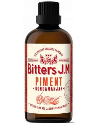 Rhum JM Bitters Piment Bondamanjak