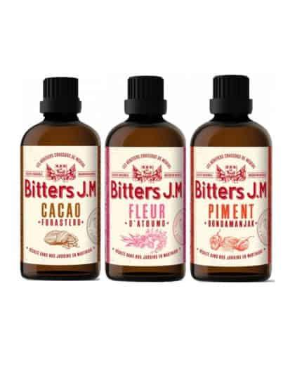 Rhum JM Bitters Set Cacao Fleur Piment