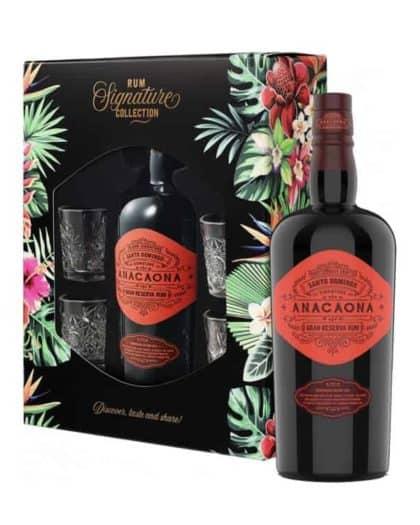 Island Signature Rum Anacaona Gran Reserva Rum Giftpack