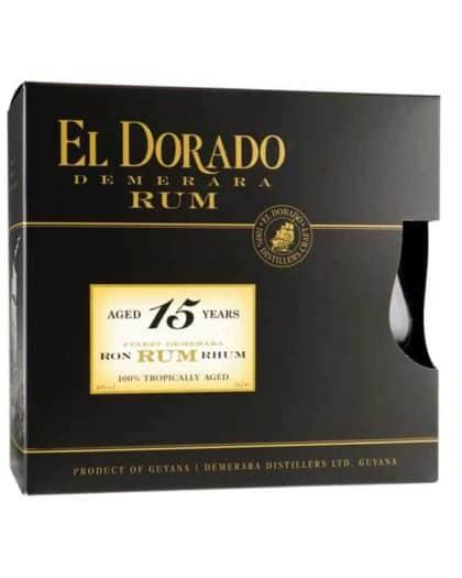Rum El Dorado 15 years Giftpack