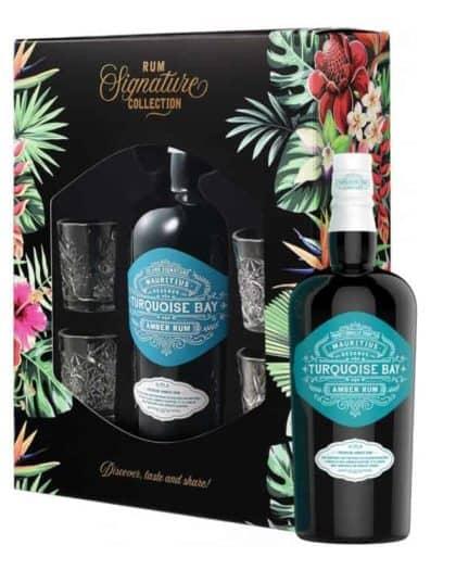 Island Signature Rum Turquoise Bay Amber Rum Giftpack
