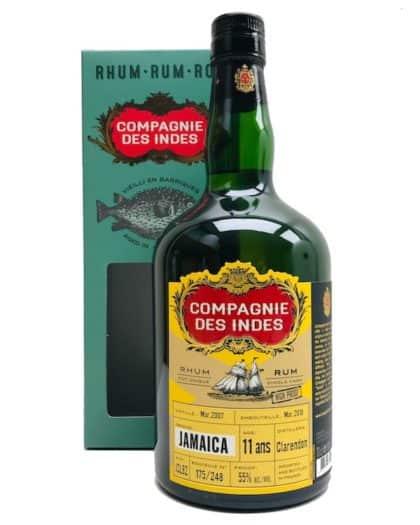 Compagnie Des Indes Jamaica Clarendon 11 ans High Proof