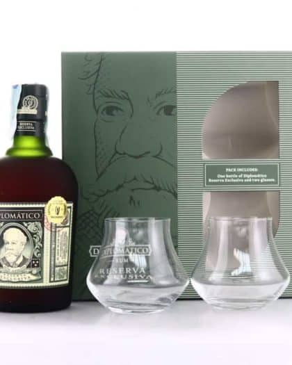 Diplomatico Reserva Exclusiva The Perfect Serve Giftpack