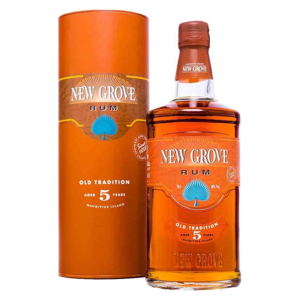 New Grove Rum Old Tradition Aged 5 Years 70cl 40%Vol