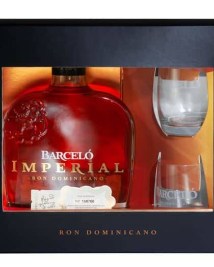 Ron Barcelo Imperial Giftpack + 2 Glasses