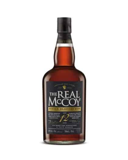 The Real McCoy Single Blended Rum 12 Years