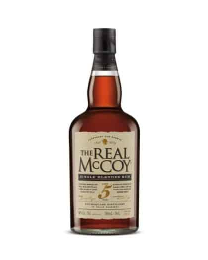 The Real McCoy Single Blended Rum 5 Years