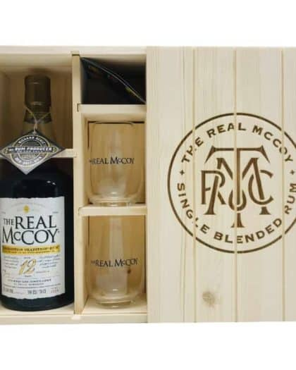 The Real McCoy Prohibition Tradition Rum 100% Proof 12 Years Giftbox