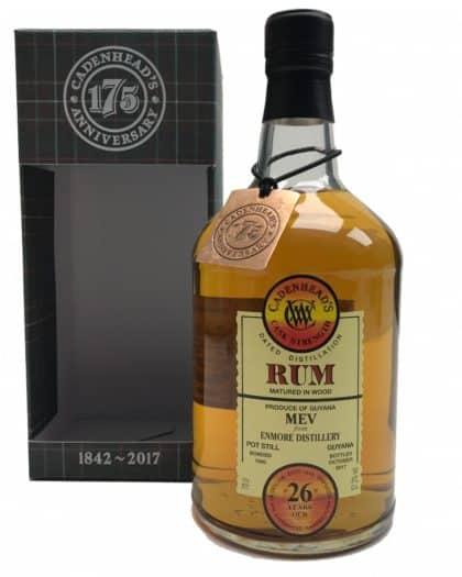 Cadenhead's Cask Strength Rum Enmore MEV 1990 26 Years 70cl 57,2%Vol