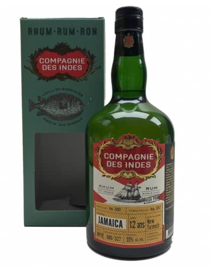 Compagnie Des Indes Jamaica 12 Years New Yarmouth High Proof 70cl 55%Vol