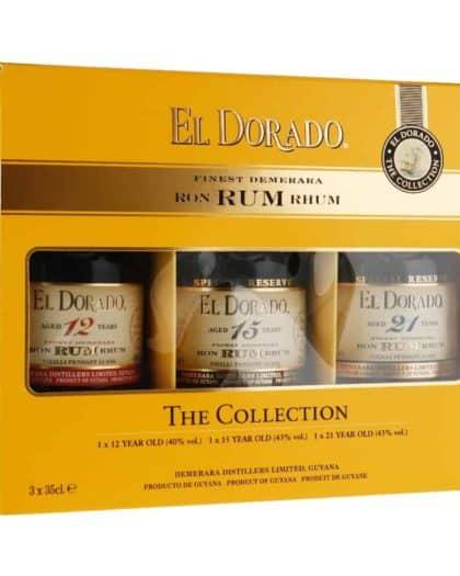 El Dorado The Collection 12y, 15y, 21y 3 x 35cl