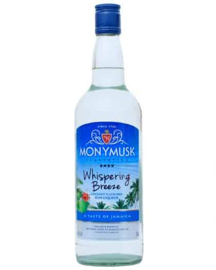 Monymusk Whispering Breeze Coconut Spirit 70cl 40%Vol