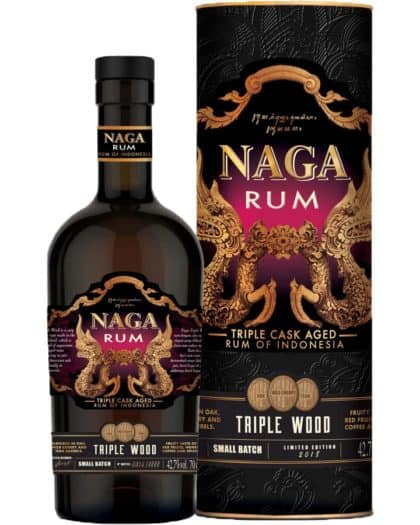 Naga Rum Pearl of Jakarta Triple Wood 70cl 42,7%Vol.