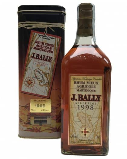 Rhum J.Bally Millésime 1998