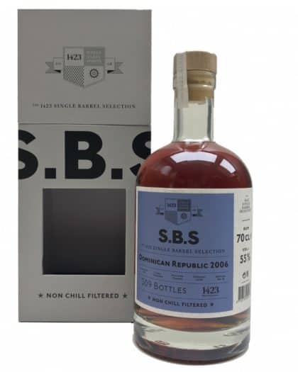 Single Barrel Selection SBS Dominican Republic 2006 70cl 55%Vol