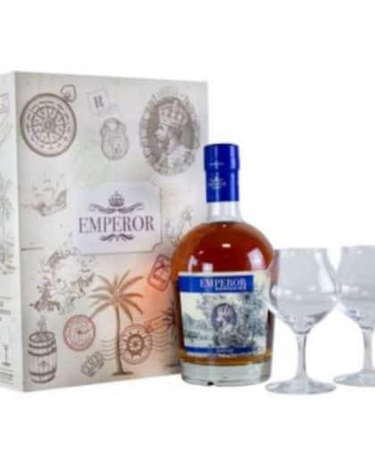 Mauritian Rum Emperor Heritage Giftbox