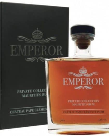 Mauritian Rum Emperor Private Collection Château Pape Clément Finish