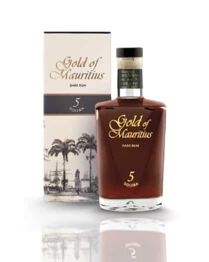 Gold Of Mauritius Solera 5 Dark Rum