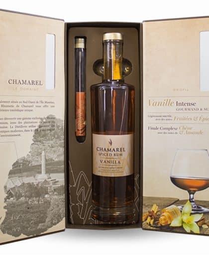 Rhum Chamarel Spiced Rum Vanilla Giftbox