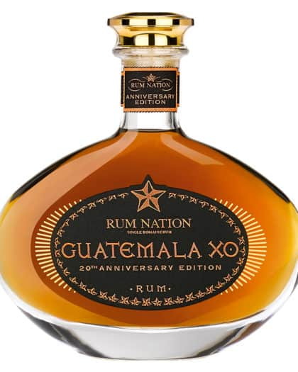 Rhum Rum Nation Guatemala XO 20th Anniversary 70cl 40%Vol