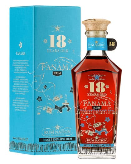 Rhum Rum Nation Panama 18 years 70cl Vol%40