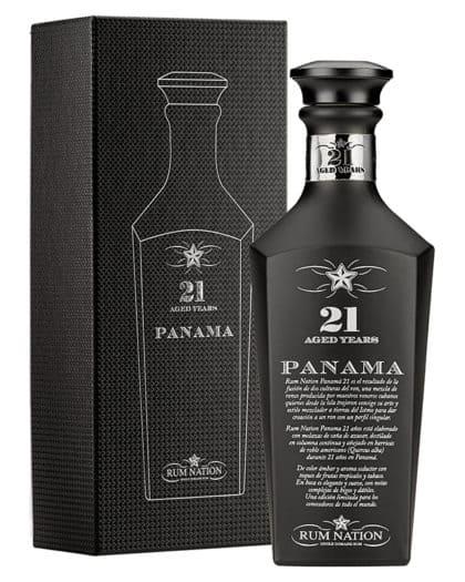 Rhum Rum Nation Panama Black 21 years 70cl Vol%43