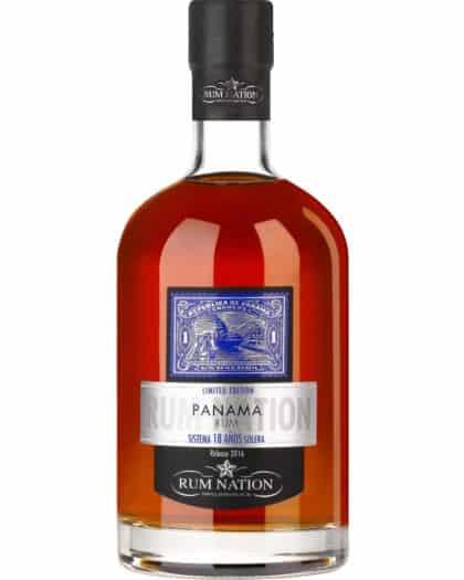 Rum Nation PANAMA 18 Sistema Solera Rel 2016