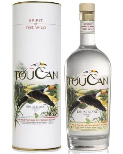 Toucan Rhum Blanc Agricole with Box
