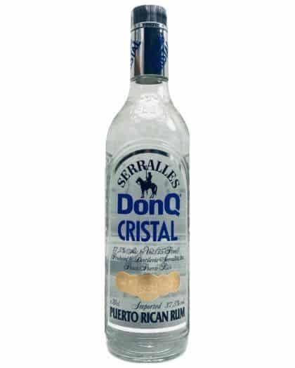 Don Q Cristal Puerto Rican Rum