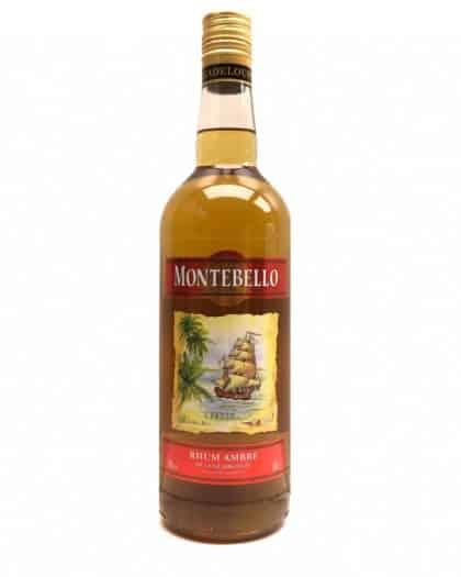 Montebello Rhum Ambré 50% 100cl
