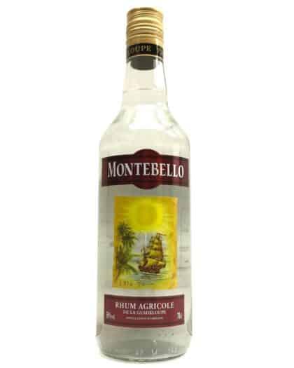 Montebello Rhum Blanc Agricole 50% 70cl