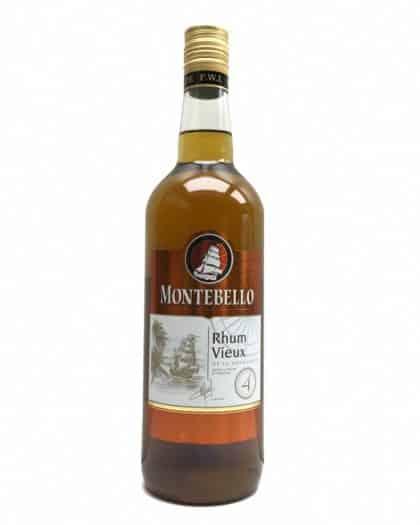 Montebello Rhum Vieux 4 Ans 100cl