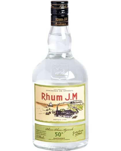 Rhum J.M Rhum Blanc Agricole 50%