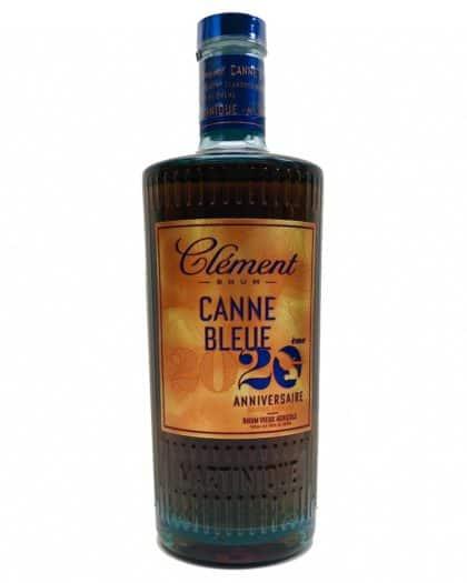 Rhum Clément Rhum Vieux Canne Bleue 2020 20 Eme Anniversaire