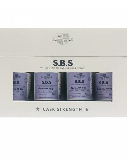 SBS 4x20cl box Experimental Cask Series Guyana