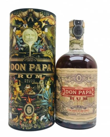 Don Papa Rum Flora & Fauna Canister 70cl 40%vol.